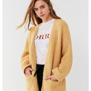 Urban Outfitters Tahoe chenille cardigan